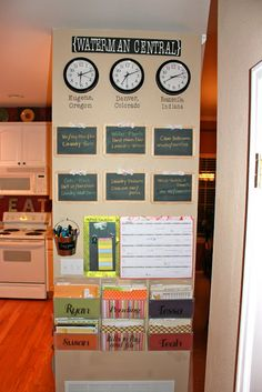 Achieving Creative Order: Project Home Management Binder Day 2: Tweaking the Command Center
