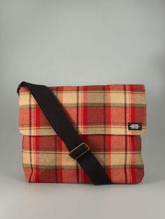 d095d8254022 Jack Spade wool plaid crossbody bag Jack Spade