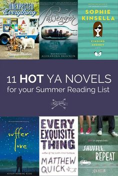11 hot Young Adult novels for your summer reading list