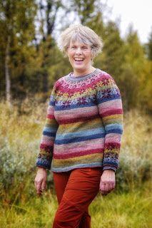Ravelry: Stjerneskudd pattern by Cecilie Kaurin and Linn Bryhn Jacobsen Ravelry, Men Sweater, Pullover, Sweaters, Pattern, Tops, Fashion, Moda, La Mode