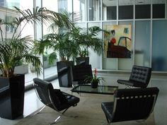 The lobby at Cannon Design