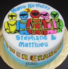 Power Rangers cake. | jocakes