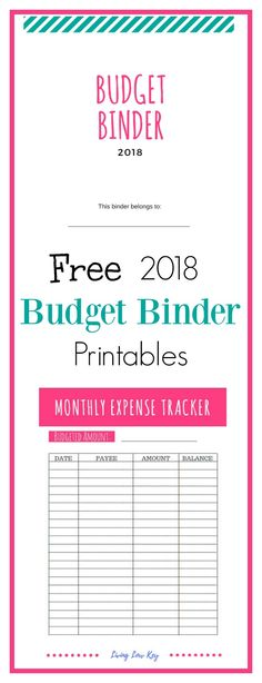 Get your finances in order with these FREE Printable Budget Sheets - free printable expense sheets