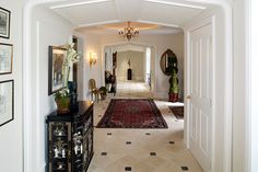 English Country House - traditional - Hall - Philadelphia - Dewson Construction Company