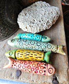 polymer sardines by staci louise smith, staci louise originals