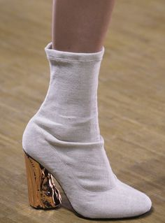 Acne Studios Fall 2015 Chaussures À Talons Hauts, Bottines, Chaussures Femme,  Styliste, 7716beb846b