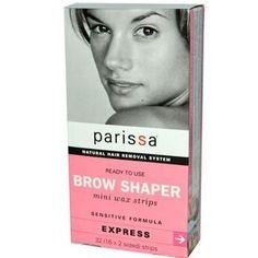 Parissa Mini Wax Strips Mini Eyebrow Design (1x32 ct)