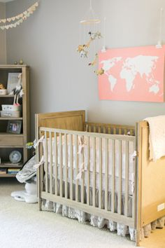 The sweetest travel themed nursery