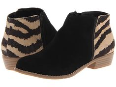 Cute animal print short boots with a rock 'n roll edge! DV by Dolce Vita Menko (Oh how the animal print calls to me!)