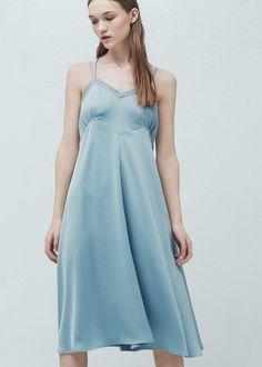 Šaty s páskem -  Žena | MANGO