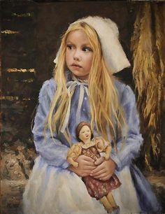 """Little pilgrim,"" 2011 -- by  Katherine Tucker (American)"