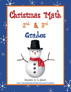 """Download includes addition, subtraction, multiplication, word problems, roman numerals, money, time and more! Download available to Download Club members @ http://www.christianhomeschoolhub.spruz.com/holiday-and-seasonal-related.htm (under """"Christmas""""). Not a Download Club member? Membership is only $15 a year and gives subscribers unlimited downloads of everything in our download library! http://www.christianhomeschoolhub.spruz.com/holiday-and-seasonal-related.htm"""