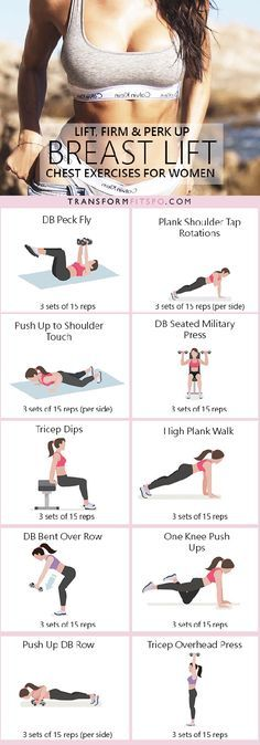 16 Intense Chest Workouts That Will Lift & Firm Up Your Chest! 16 Intense Chest Workouts That Will Lift & Firm Up Your Chest! – TrimmedandToned Related Post Free Printable Fitness Planner 10 Week No-Gym Home Workout Plan That Burns Fat Gu. Fitness Workouts, At Home Workouts, Fitness Tips, Fitness Motivation, Health Fitness, Yoga Fitness, Fitness Plan, Workout Exercises, But Lifting Exercises