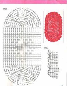 Bath Crochet Patterns Part 8 - Beautiful Crochet Patterns and Knitting Patterns Filet Crochet, Crochet Mat, Crochet Rug Patterns, Crochet Carpet, Crochet Squares, Crochet Home, Knitting Patterns, Crochet Gratis, Crochet Table Runner