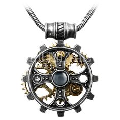 Foundryman's Ring Cross Pendant - AG-P606 by Medieval Collectibles