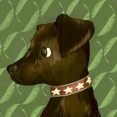 Jameson the Terrier Canvas Art