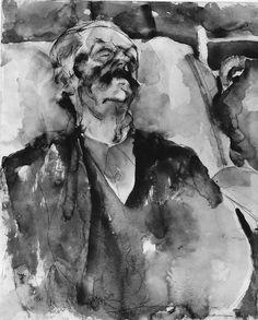 Metropolitan Museum of Art Art Students League, Metropolitan Museum, Portrait, Second Cousin, Collections, Painting, Image, Artsy Fartsy, Watercolors