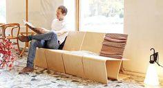 Smart Multi-Purpose Lounge Chair Design -LLSTOL