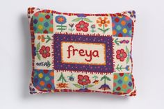 LOVE this!   NEW Blooming Lovely tapestry/needlepoint kit personalised just for you! £47.54, via Etsy.