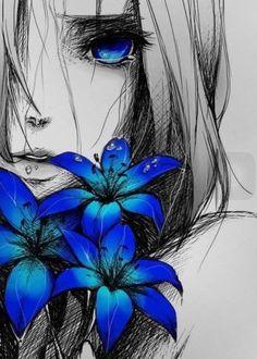 #Anime girl Art