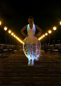 In the Future, We Will All Wear Fiber Optic Dresses