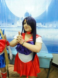 Character: Sailor Mars  Cosplayer: Sophie Rodas