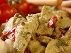 Roasted Artichoke Salad by Ina Garten