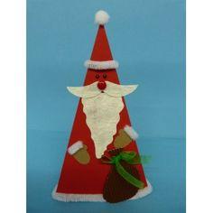 #Nikolaus falten, Basteln mit Kindern für #Weihnachten, Bastelanleitung: http://www.trendmarkt24.de/bastelideen.nikolaus-falten.html#p