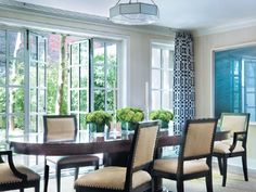 dining room, Upper East Side Townhouse