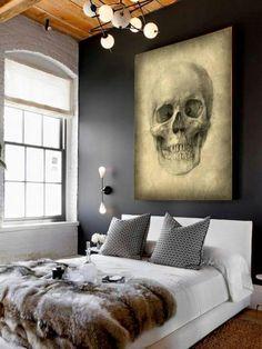 Skull Schlafzimmer