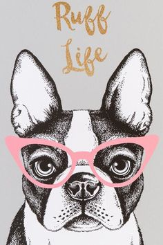 Ruff Life Dog Canvas Wall Decor- gift-clalternate