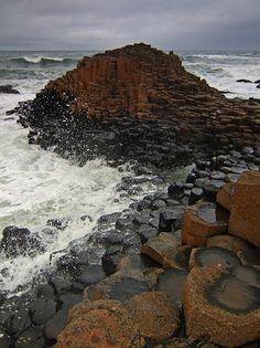 Giant's Causeway 3 - Észak-Írország - UK /Óriások útja/ Észak - Írország egyik különlegesen érdekes természeti képződménye.