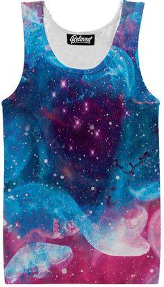 Jellyfish Nebula Tank More at… Tank You, Printed Tank Tops, Jellyfish, Mens Tops, Random, T Shirts, Medusa, Casual