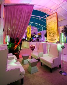Fox Emmys After-Party  Stillo worked with Robb Smith at Laurels Custom Flora & Events on the event's clean-looking design.