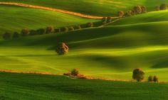 Among fields... by Pawel Kucharski / 500px