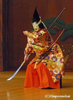 巴Japanese theater gorgeous!