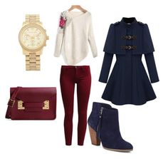 """""""Untitled #253"""" by pumpkin-hart ❤ liked on Polyvore featuring Sisley, Michael Kors, Sophie Hulme and Sole Society"""