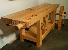 2013 Workbench Of The Month - Wood Vise Screw and Wooden Vise for Leg Vise, Wagon Vise, Shoulder Vise, Twin Screw Vise, Tail Vise and Face Vise for Wood Workbenches