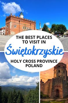 Looking for places to visit in Swietokrzyskie Poland? Check out these best tourist attractions in the Holy Cross Province on and off the beaten path!