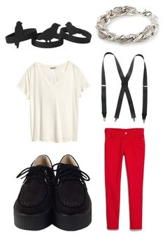 """Jimin - War of Hormone"" by clemerina ❤ liked on Polyvore featuring MANGO, Stacy Adams, H&M and Monki"