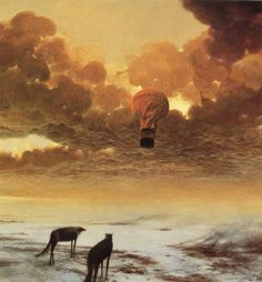 Dormência Mental: Pinturas de Zdzislaw Beksinski