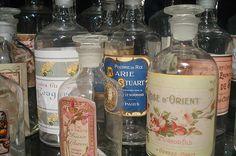 Vintage Label Bottles