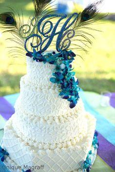 bright colored bohemian feather wedding invitations