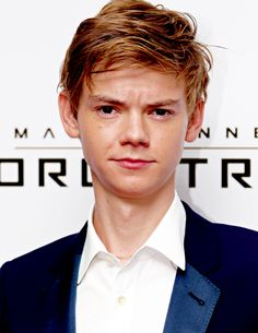 thomas brodie-sangster at the premiere of The Maze Runner: Scorch Trials in London