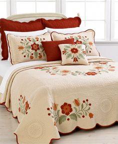 Nostalgia Home Bedding, Queen June Bedspread £143.79 - Sham £39.94 - Pillows £31.95 (Sale Prices)