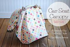 Car Seat Canopy Tutorial