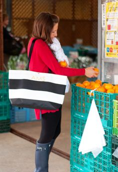 Hayden Reis Ditty Tote as a Market Bag | Marshalls Abroad