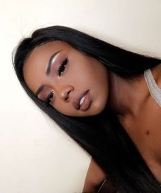 Brazilian Straight Human Hair Wigs Adjustable Pre Plucked top lace Closure HumanHair Wigs 100 Unprocessed Remy Hair For Black Women Flawless Makeup, Gorgeous Makeup, Beauty Makeup, Hair Makeup, Hair Beauty, Beauty Bar, Eye Makeup, African Hairstyles, Weave Hairstyles