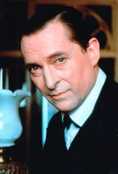 """Jeremy Brett, the ultimate Sherlock Holmes,  (born Peter Jeremy William Huggins; 3 Nov 1933–12 Sept 1995). His father was Lieutenant-Colonel Henry William Huggins, Army officer, war hero, Deputy Lord Lieutenant of Warwickshire and an heir of the Cadbury chocolatier family. He graduated from Central School of Speech and Drama in London in 1954, but his father demanded that he change his name for the sake of family honour so he took his stage name from the label of his first suit, """"Brett and…"""