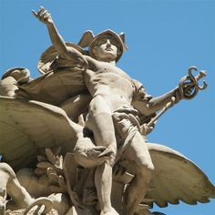 hermes statue grand central - 500×500